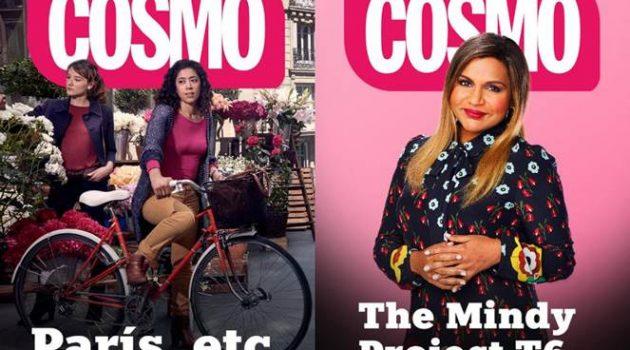 'París, etc.' y 'The Mindy Project' encabezan las novedades de Cosmo para el mes de mayo