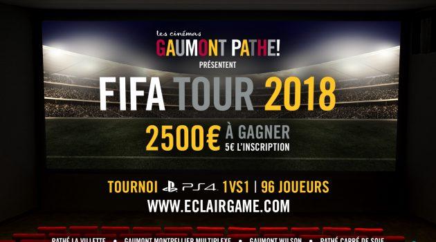 EclairGame y los cines Gaumont Pathé amplían a más ciudades el campeonato Fifa Tour 2018