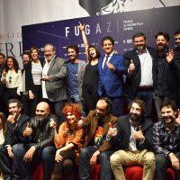 Foto de familia con algunos de los nominados y miembros del jurado en los Fugaz 2018.