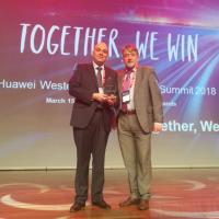 Alea Soluciones, premiado como partner de valor añadido por Huawei Europa