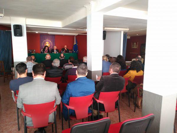 La <h3 class='enlacePalabraNoticia' onclick='opcionBuscarActualidad('Riaza','')' >Riaza</h3> Film Office se presentó ayer en el Centro Segoviano de Madrid