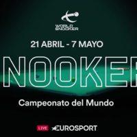 El Campeonato Mundial de Snooker volverá a emitirse en Eurosport