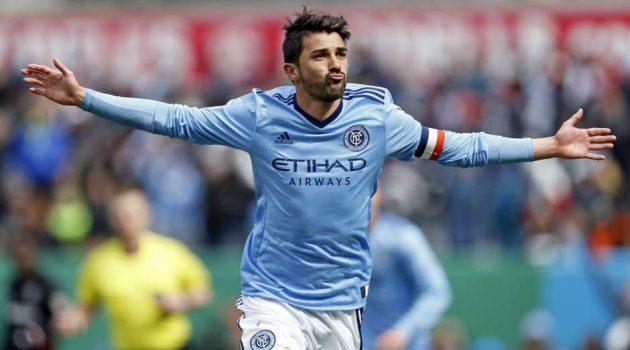 Sigue los encuentros de David Villa en el New York City de la mano de Eurosport