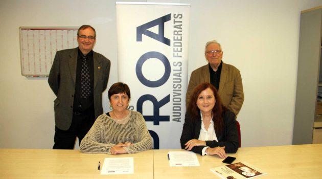 La Fundación Queraltó y PROA colaborarán en actividades culturales y educativas