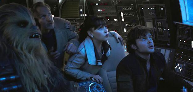 'Han Solo' lidera la taquilla pero muestra el desgaste de la saga Star Wars