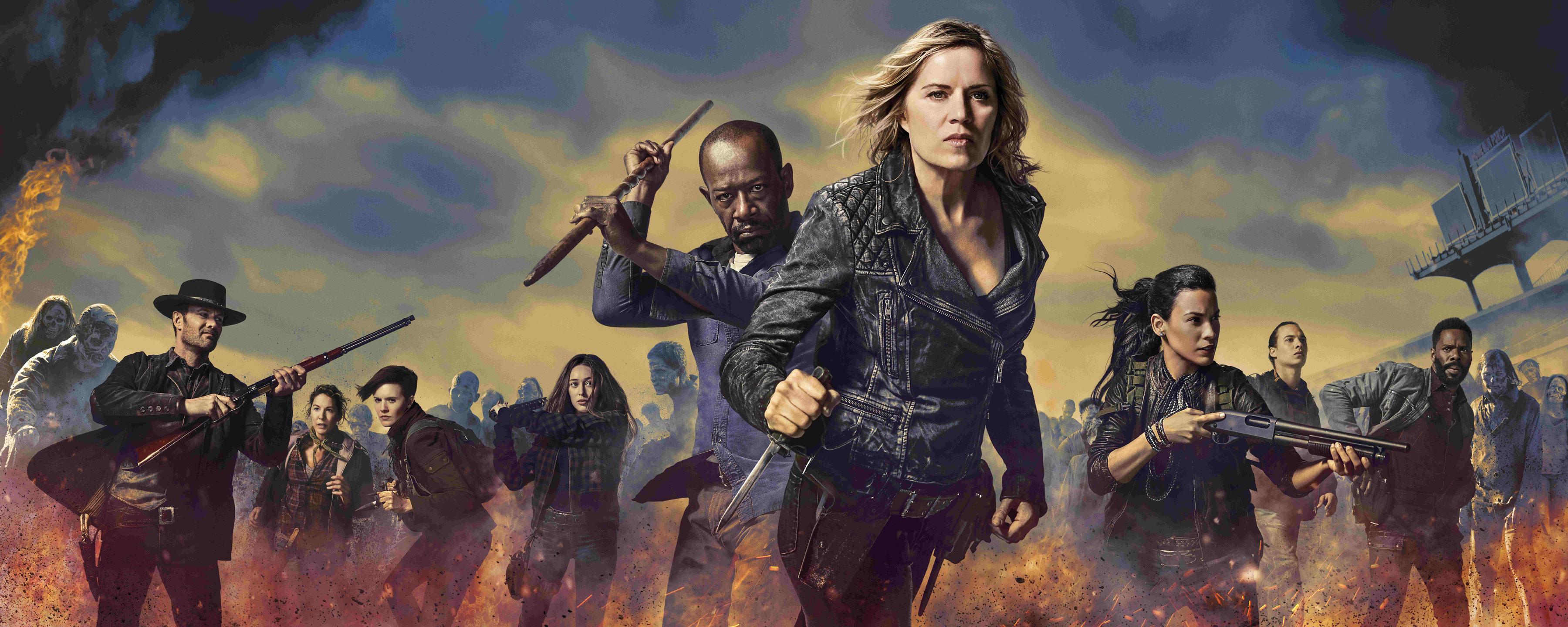 La segunda parte de la T4 de \'Fear the Walking Dead\' llegará el 27 ...