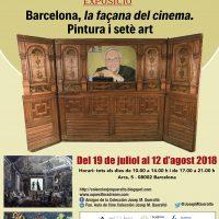 """Hoy se inaugura la exposición """"Barcelona, la fachada del cine. Pintura y séptimo arte"""""""