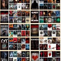 El análisis que publica American Film Market también muestran unos patrones muy similares en la confección de los carteles del cine de terror.