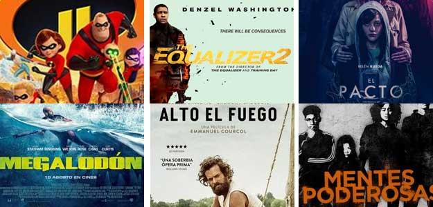 Animación, fantasía, suspense, comedia … cine para todos los gustos