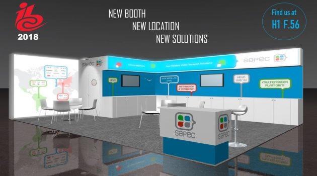 SAPEC mostrará sus soluciones tecnológicas para el futuro próximo en el IBC 2018