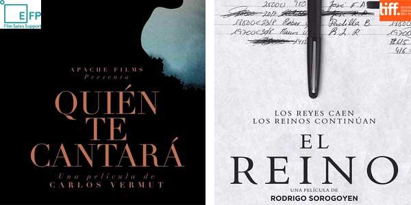 European Film Promotion apoya en Toronto a 'Quién te cantará' y 'El reino'