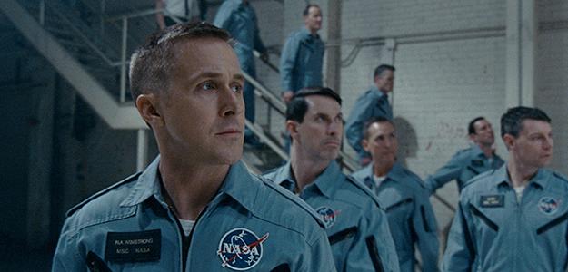 Ryan Gosling protagoniza 'First Man' de Damien Chazelle. El film inaugura Venecia siendo proyectado en la   Sala Grande en el Palazzo del Cinema del Lido.