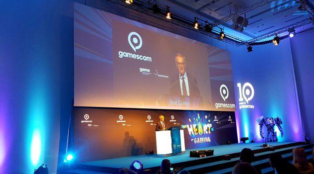 El ministro de Cultura José Guirao durante la inauguración de Gamescom 2018.