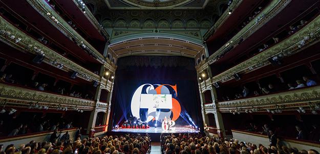 Imagen de la 62ª edición del festival de la SEMINCI en el Teatro Calderón de Valladolid.