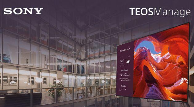 Sony actualiza su gama TEOS para aumentar la eficiencia del lugar de trabajo corporativo