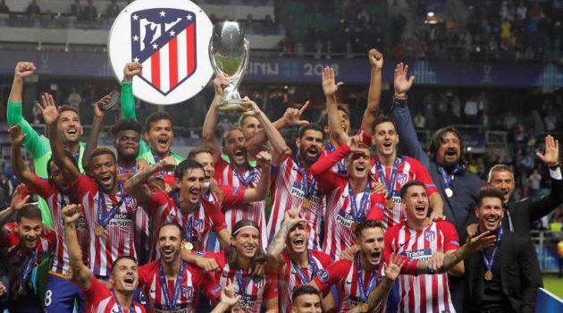 La reciente Supercopa de Europa, en la que el Atlético de Madrid se llevó el título, fue el primer partido dentro de este acuerdo.