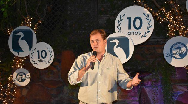 Manuel Mateos, CEO de Iberalia TV, durante la presentación.