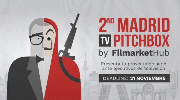 Filmarket Hub pone en marcha la convocatoria de series para '2nd Madrid TV Pitchbox'