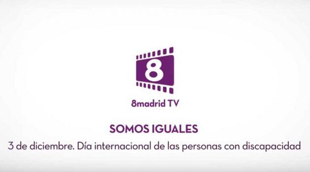 8madrid TV, Mercury Films y Mk2,  solidarios con las Personas con Discapacidad