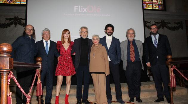 Arranca FlixOlé, la plataforma digital dedicada al cine en español