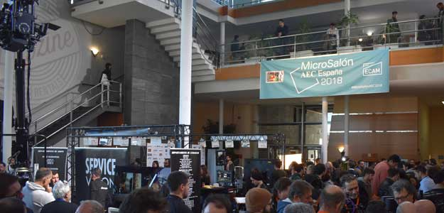 Más de 1.200 profesionales se acreditaron en la segunda edición del MicroSalón