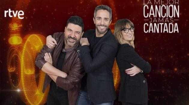 Noemí Galera y Tony Aguilar, jurados de 'La mejor canción jamás cantada', talent show de La 1