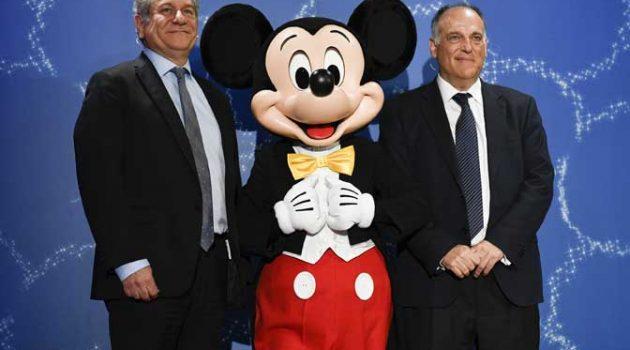 'Juega con valores', proyecto de  Disney y LaLiga  para fomentar las virtudes del deporte