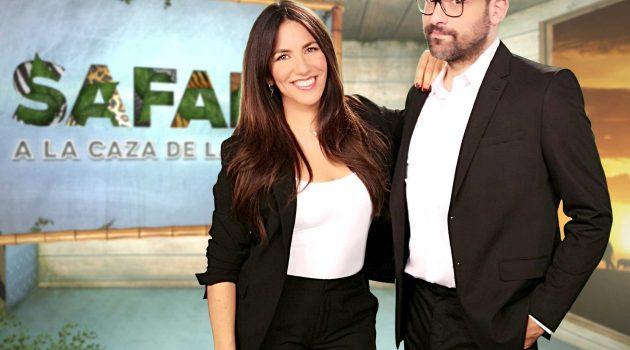 Irene Junquera y Nacho García aterrizan en FDF con 'Safari, a la caza de la tele'