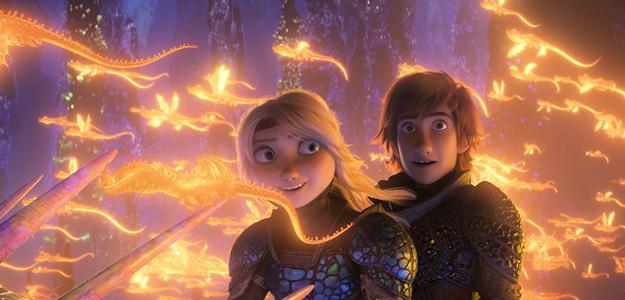 'Cómo entrenar a tu dragón 3' logra el mejor estreno del año en España