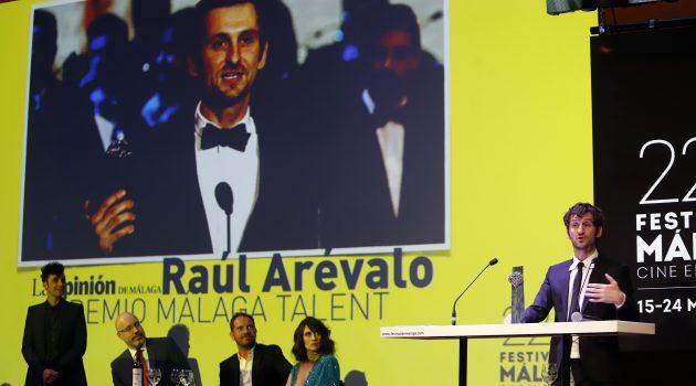 Raúl Arévalo, premio Málaga Talent por su carrera y deslumbrante debut en la dirección