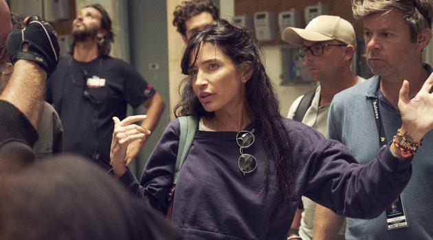 La directora Reed Morano durante el rodaje de 'The Rhythm Section' (Foto de José Haro)