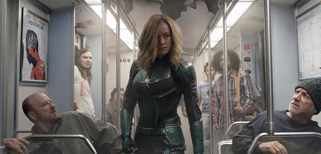 'Capitana Marvel' empodera a la taquilla con más de 4 millones, el mejor estreno del año