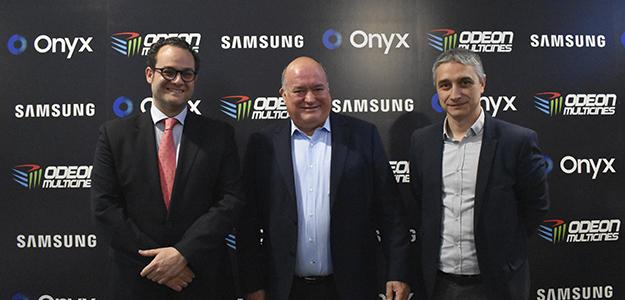 Odeón Sambil es el primer cine de España en instalar una pantalla Samsung Cinema LED Onyx