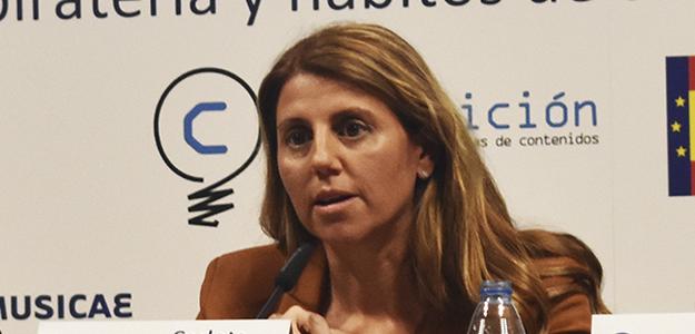 """Carlota Navarrete: """"Necesitamos que los buscadores se impliquen más en la lucha contra la piratería"""""""
