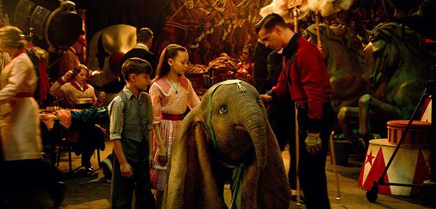 'Dumbo' se alza con el primer puesto de taquilla gracias a sus 3'5 millones de euros