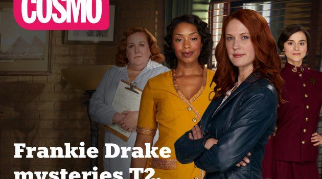 'Frankie Drake Mysteries' (T2), estreno en Cosmo