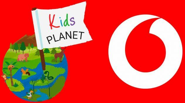 Nace Kids Planet, la app de Vodafone con contenidos infantiles