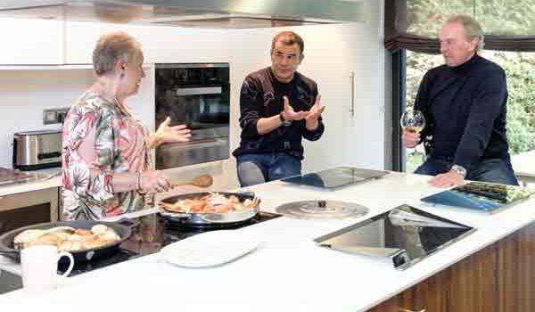 Bertín Osborne reabre su casa con Jorge Javier Vázquez