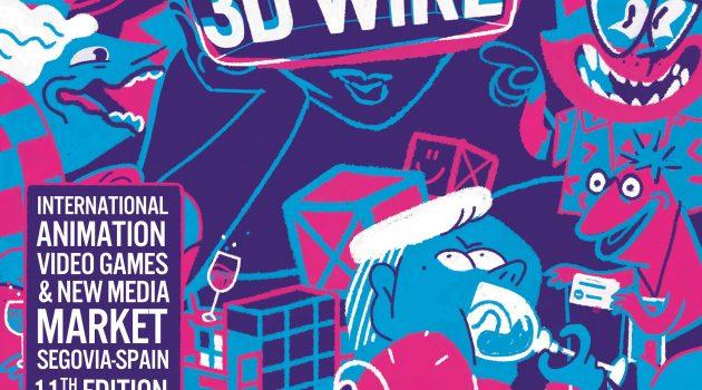 3D Wire da a conocer las fechas de su 11ª edición y lanza su cartel, creado por Silly Walks