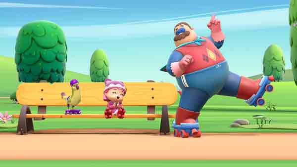 Wise Blue Studios produce la serie de animación 'Hero Dad'