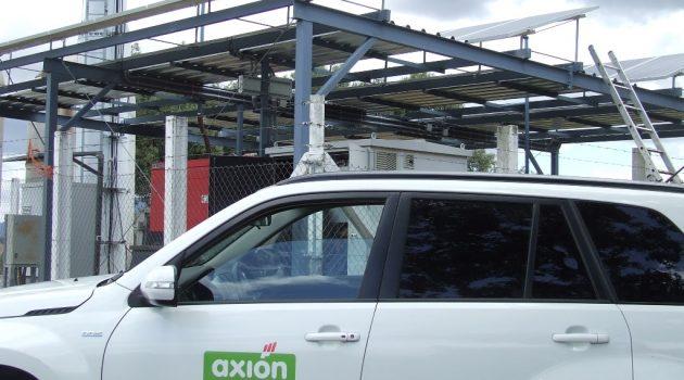 Axión fomenta el autoconsumo energético en  sus centros de telecomunicaciones