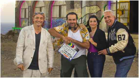Alfonso Sánchez comienza a rodar 'Superagente Makey'