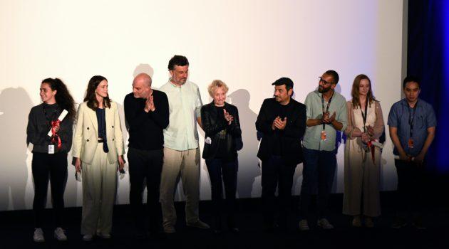 Jurado y ganadores de la selección de cortos de la Cinéfondation 2019 (Foto: Deborah Neris / FDC).