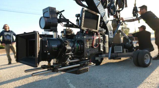 Fujinon Premista sobre Sony Venice en el rodaje de 'Rhinestone Blue'