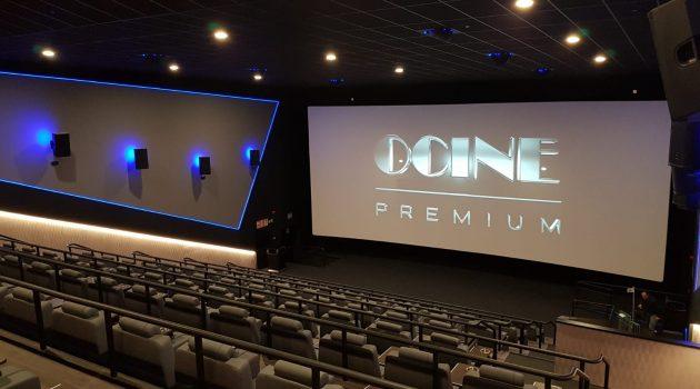 La sala 4 del Ocine Premium Estepark cuenta con sonido Dolby Atmos.