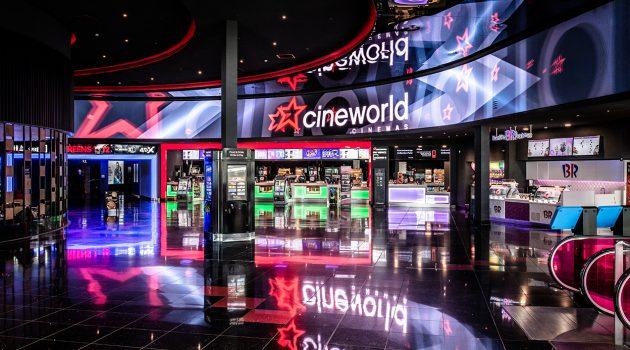 Cineworld equipará sus salas con más de 1.000 proyectores láser RGB de Christie