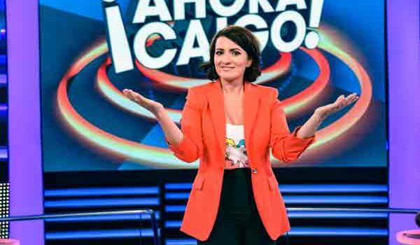 A partir del próximo lunes, Silvia Abril se hará cargo de '¡Ahora caigo!'