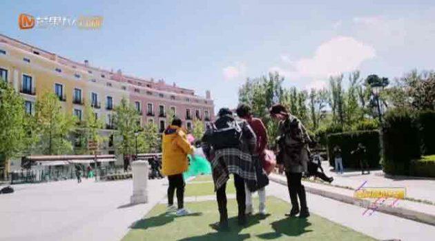 Madrid en la grabación de 'My dearest ladies', reality show para la televisión china