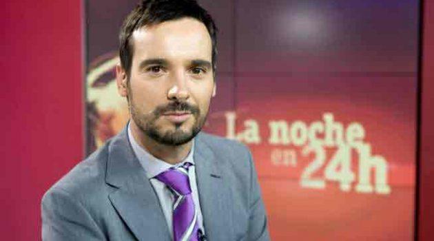 Lluís Guilera, editor y presentador de 'Telediario Fin de Semana' de La 1