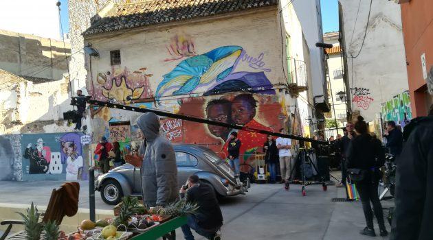 Rodaje de 'Toy Boy' (Foto de Málaga Film Office)